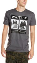 Liquid Blue Men's Cheech and Chong-Wanted T-Shirt