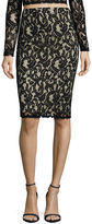 Fire Pencil Skirt Juniors