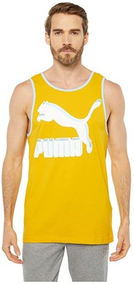 Puma Classics Logo Tank Top (Golden Rod) Men's Sleeveless