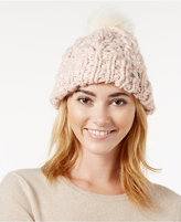 Betsey Johnson Pearly Girl Cuff Hat