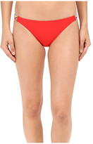 Red Carter Braided Side Classic Bottoms