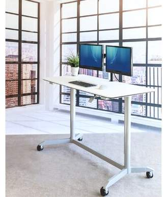 Seville Classics AIRLIFT® Airlift Height Adjustable Standing Desk AIRLIFT® Color: White