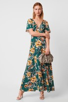 French Connenction Claribel Floral Maxi Dress