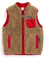 Patagonia Boy's Classic Retro-X Fleece Vest