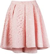 Martha Medeiros 'marescot' lace flared skirt