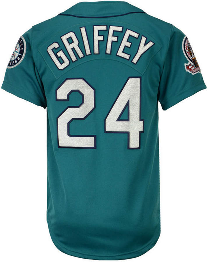 Mitchell & Ness Men's Ken Griffey Jr. Seattle Mariners Authentic Jersey