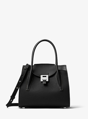 Michael Kors Bancroft Medium Calf Leather Satchel