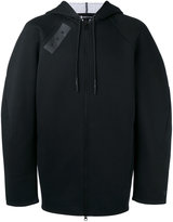 Y-3 hooded zip jacket - men - Cotton/Polyester - XL