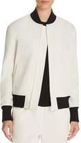 DKNY Color Block Bomber Jacket