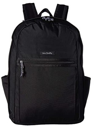 Vera Bradley Lighten Up Grand Backpack (Black) Backpack Bags