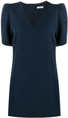 P.A.R.O.S.H. Puff-Shoulder Mini Dress