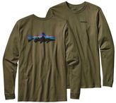 Patagonia Men's Long-Sleeved Fitz Roy Trout Cotton T-Shirt