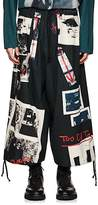 Yohji Yamamoto Men's Photo-Print Cotton Balloon Pants