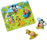 Disney Mickey Mouse and Friends Wooden Jumbo Knob Puzzle
