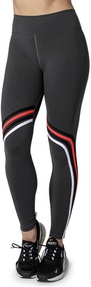 925 Fit Gym and Tone It Striped High Waist Leggings