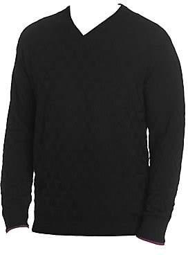 Robert Graham Men's Randie V-neck Sweater