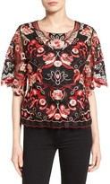Women's Kobi Halperin Mirielle Embroidered Lace Blouse