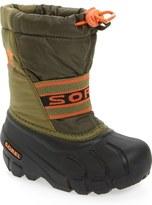 Sorel 'Cub' Water Resistant Snow Boot (Baby, Walker, Toddler, Little Kid & Big Kid)
