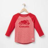 Roots Girls Canada Baseball T-shirt