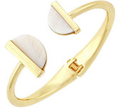 BCBGeneration She Sells Seashells Shell Spring Open Cuff Bracelet