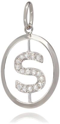 Annoushka White Gold and Diamond S Pendant