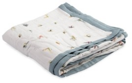 Little Unicorn Gone Fishing Deluxe Muslin Quilt