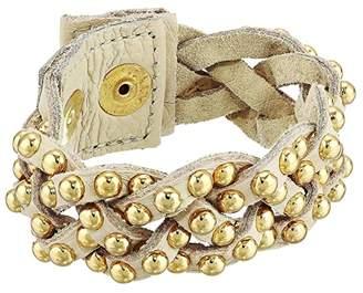 Leather Rock Maude Bracelet