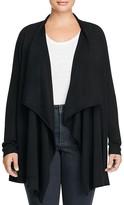 Eileen Fisher Plus Merino Wool Cascade Cardigan