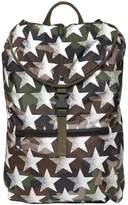 Valentino Camustars Printed Nylon Backpack