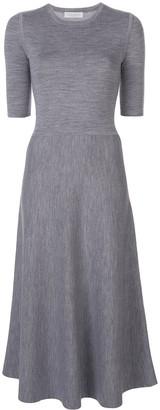 Gabriela Hearst Seymore Cashmere Midi Dress
