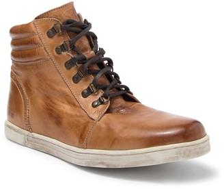 Bed Stu Liquid Leather Lace-Up Hi-Top Sneaker