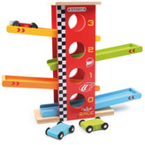 Vilac Stunt Racing Cars Multicoloured