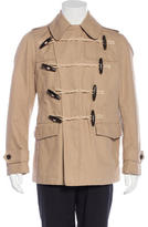 Burberry Double Breasted Toggle Jacket