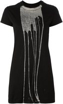 Rick Owens 'Bleach Vomit' T-shirt - women - Cotton - M