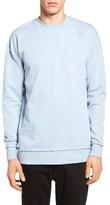 Zanerobe Men's Rugger Oversized Raw Edge Sweatshirt