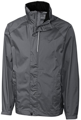 Cutter & Buck Men's Big and Tall Big & Tall Hooded Spark Systems Trailhead Jacket