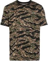 Lacoste Live camouflage print T-shirt