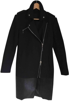 CNC Costume National Black Wool Coat for Women