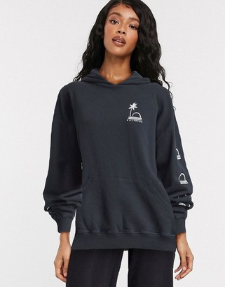 Billabong Vacation Days hoodie in black