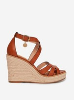 Dorothy Perkins Womens Tan 'Rolly' Wedge Sandals