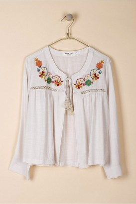 Indi & Cold - Long Sleeve Embroidered Jacket - Small