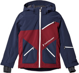 Peak Performance Navy and Maroon Pop Ski Jacket