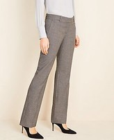 Ann Taylor The Petite Straight Pant in Dobby
