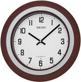 Seiko Brown Wall Clock With 18 Hi-Fi Melodies Qxm547blh
