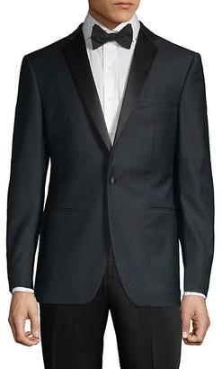 John Varvatos Modern-Fit Textured Wool Dinner Jacket