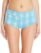 Volcom Women's Wallflower Two-Inch Short Bikini Bottom