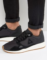 Le Coq Sportif R900 Cordura Pack Trainers In Black 1710130