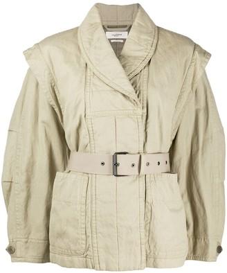 Etoile Isabel Marant Belted Double-Breasted Jacket