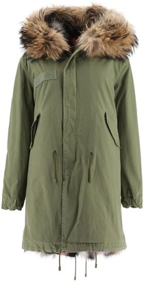 Mr & Mrs Italy Army Parka With Fur