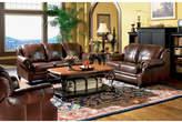 Wildon Home Harvard Leather Configurable Living Room Set